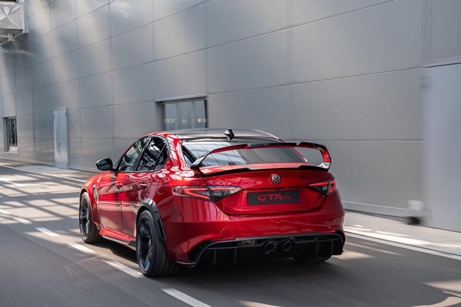 Motore di Alfa Romeo Giulia GTA 2020