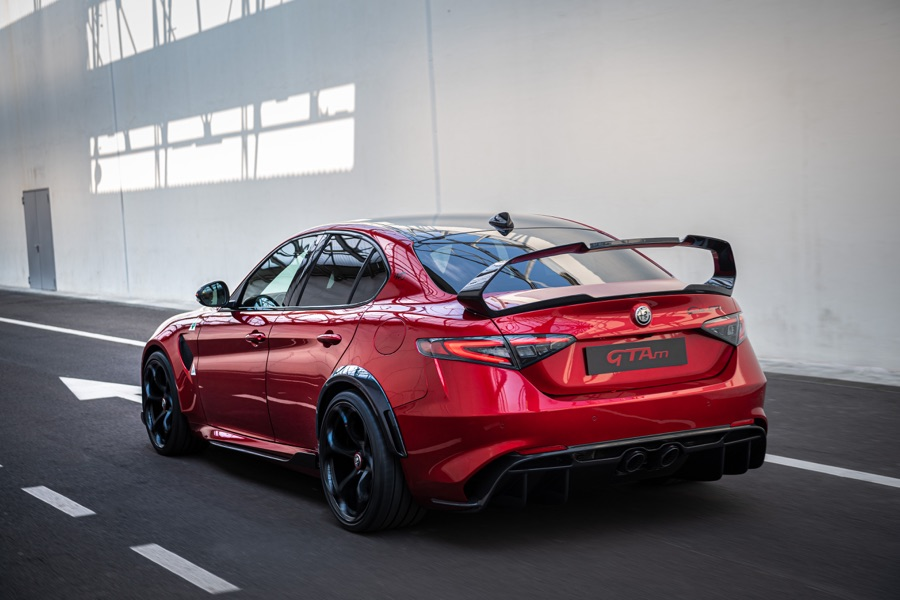 Scarico di Alfa Romeo Giulia GTA 2020