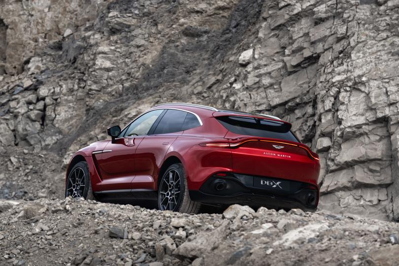Cambio automatico su Aston Martin DBX