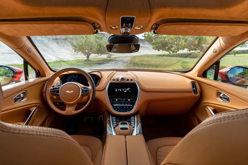 Interni di Aston Martin DBX
