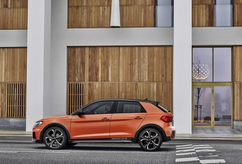 ADAS di serie su Audi A1 Citycarver
