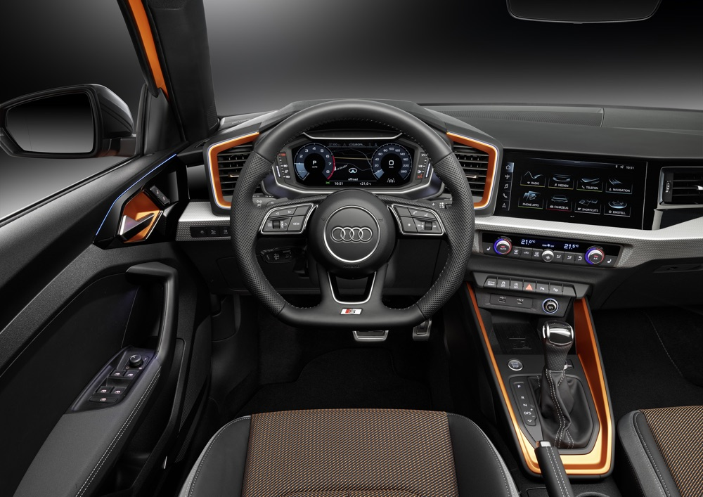 Audi A1 Citycarver con Virtual Cockpit