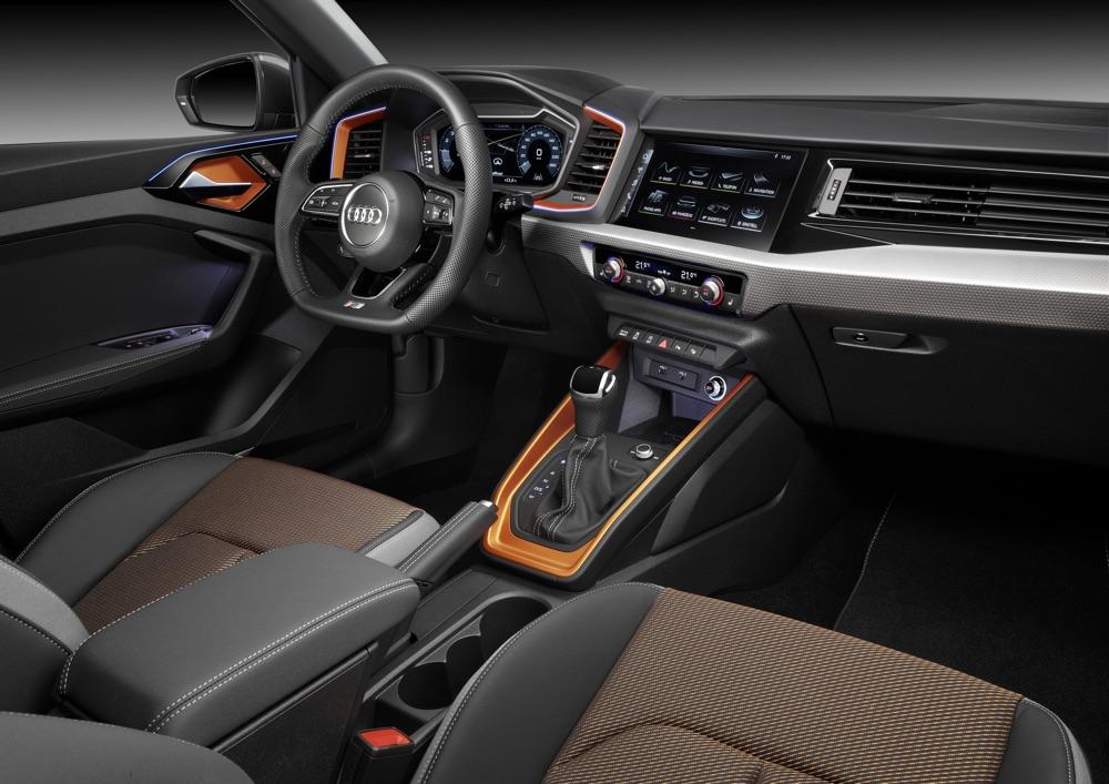 Infotainment di Audi A1 Citycarver