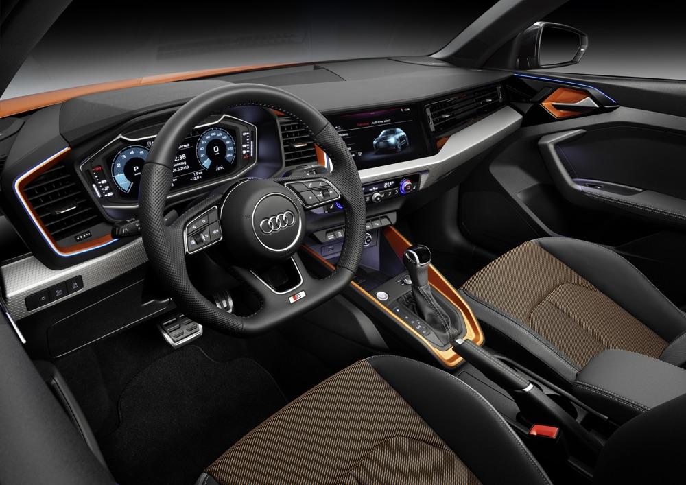 Interni di Audi A1 Citycarver