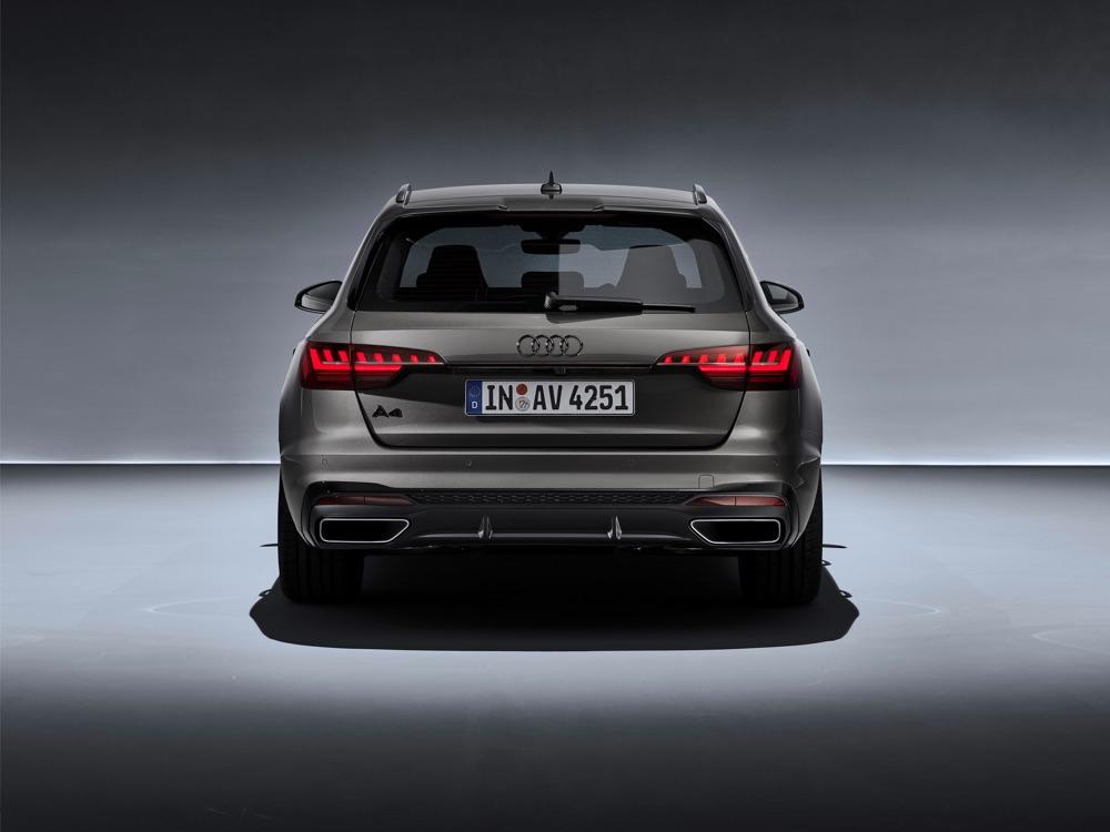 Audi A4 Avant restyling