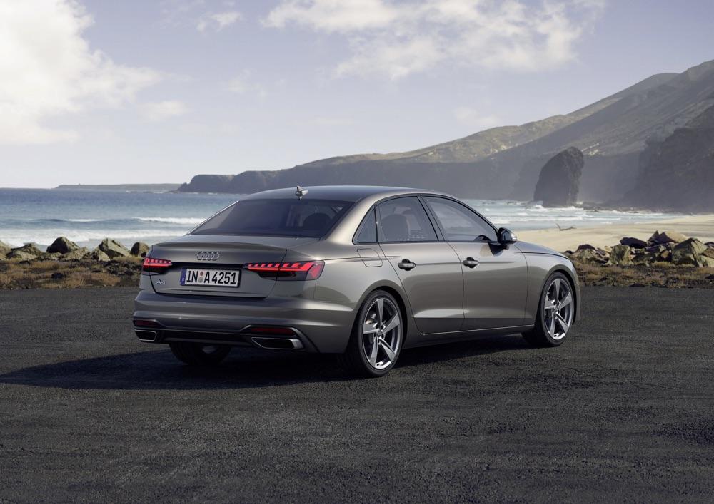 Audi A4 restyling 2020, caratteristiche