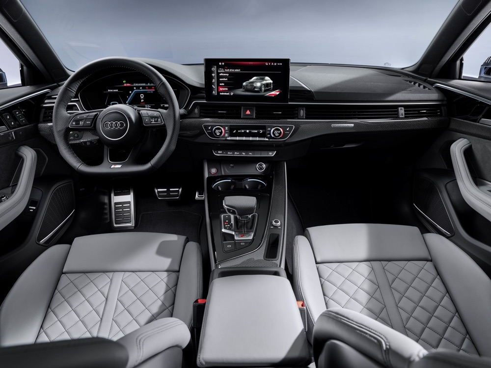 Infotainment Audi S4 2019