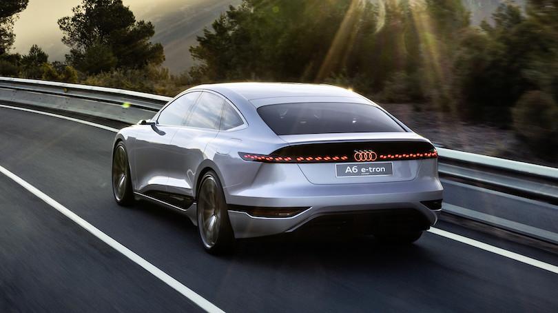 Autonomia di Audi A6 e-tron concept
