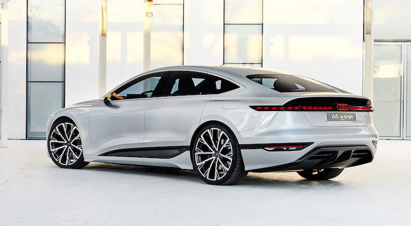 ricarica Audi A6 e-tron concept