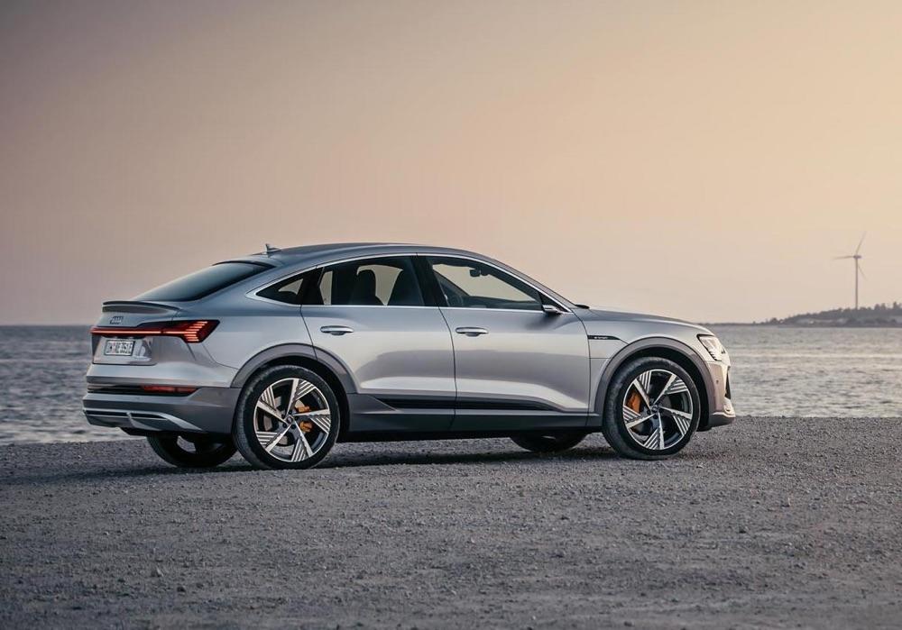 Autonomia di Audi e-Tron Sportback