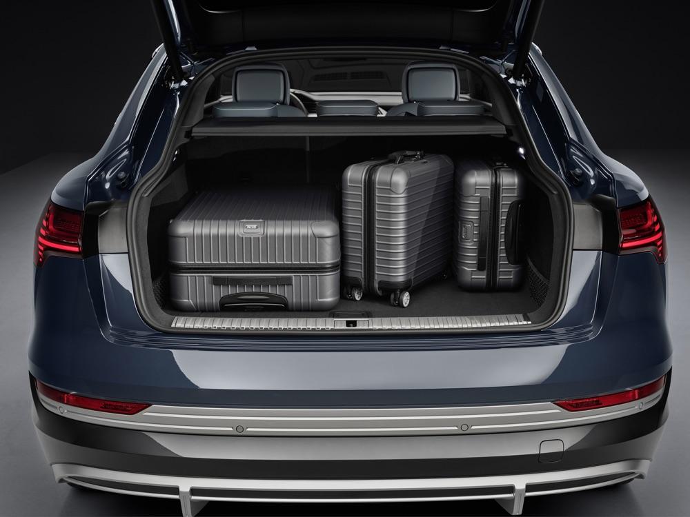 Bagagliaio di Audi e-Tron Sportback