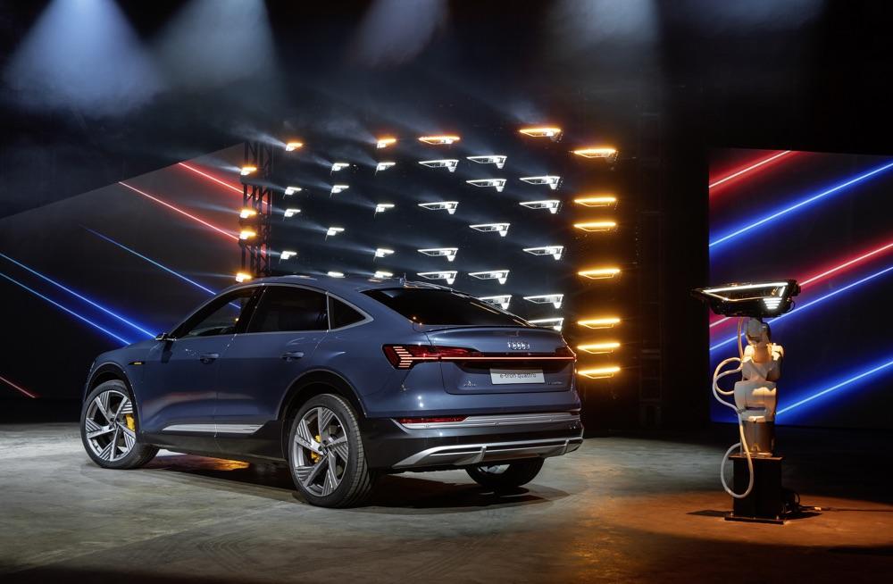 Batteria di Audi e-Tron Sportback