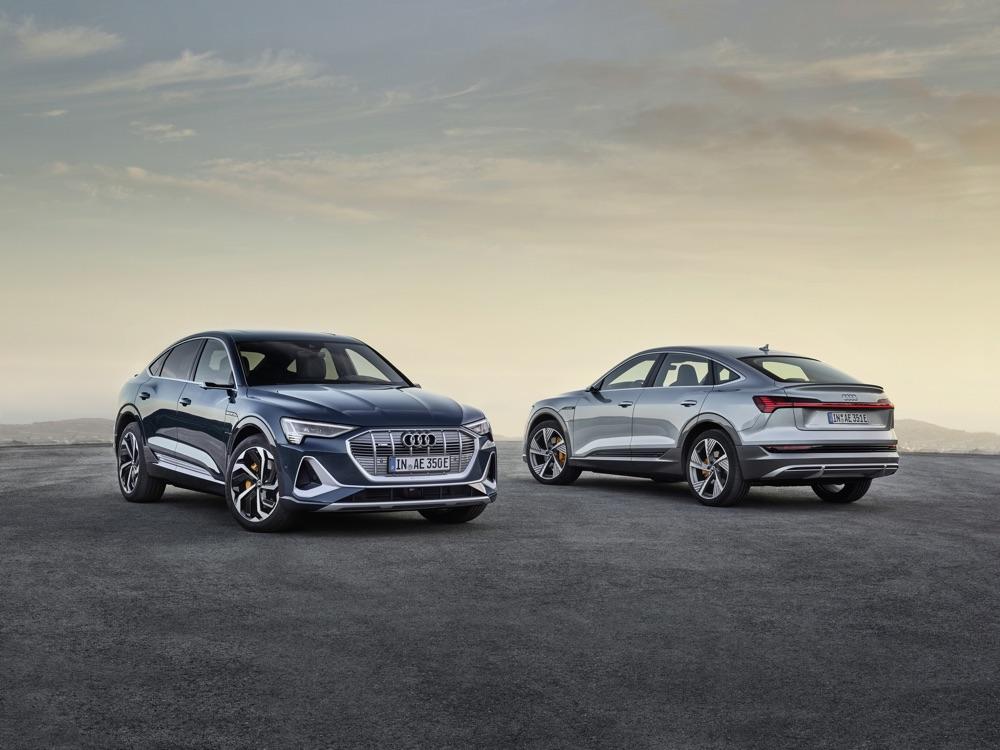 Trazione di Audi e-Tron Sportback
