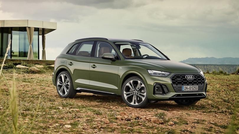 Adas di Audi Q5 restyling