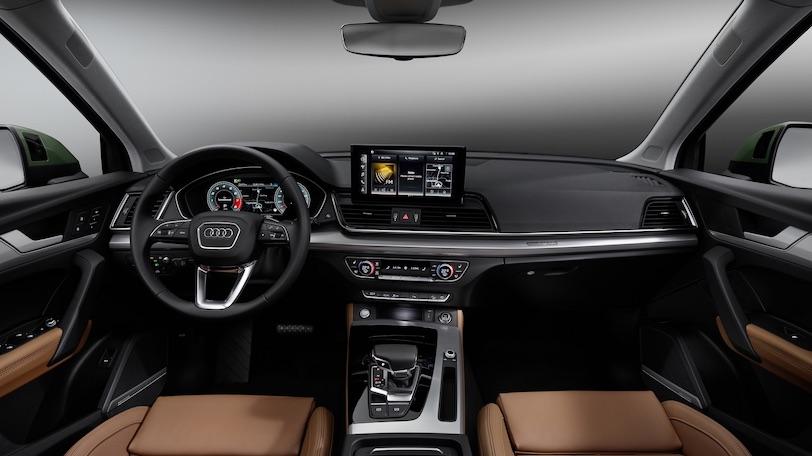 Interni di Audi Q5 restyling
