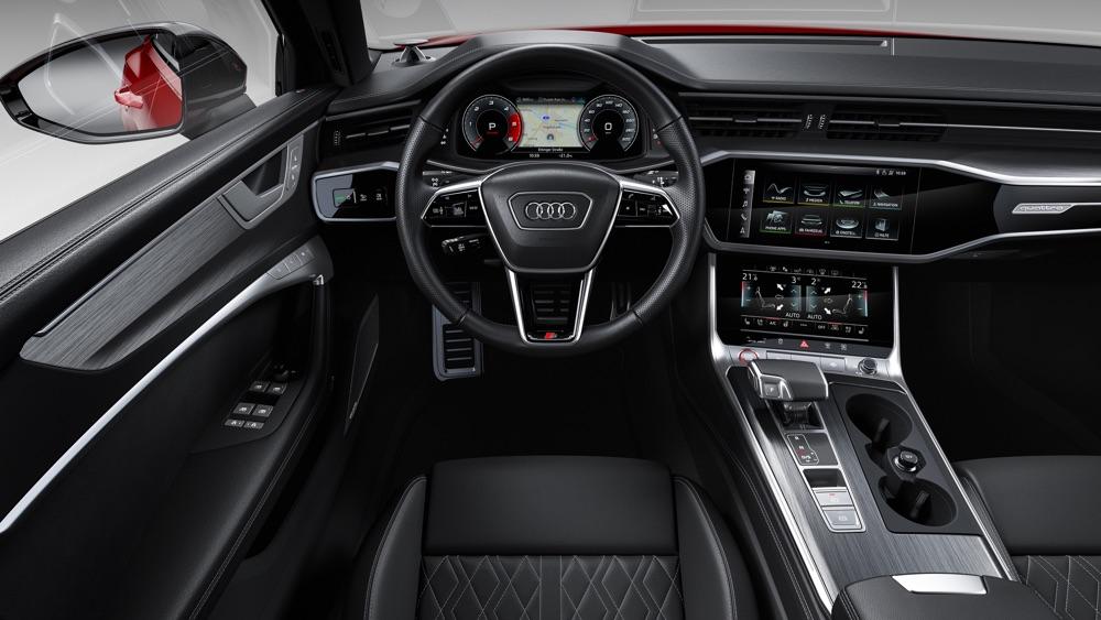 Audi Virtual Cockpit di nuova Audi S6 Avant TDI
