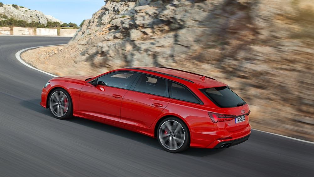 Nuova Audi S6 Avant TDI