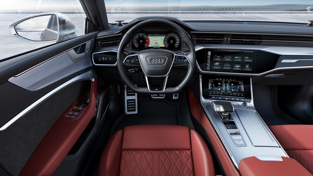 Nuova Audi S7 TDI, interni
