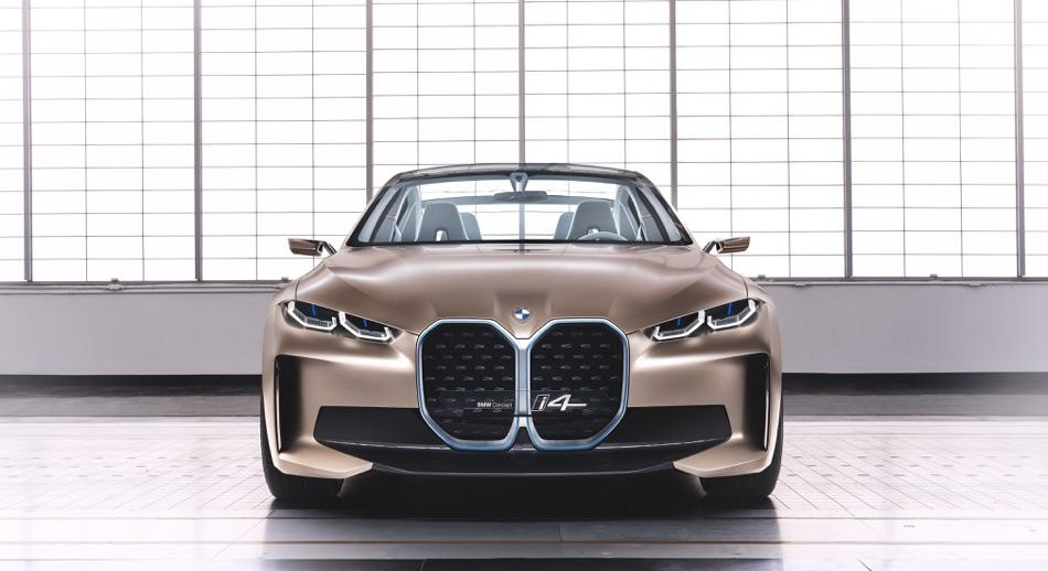 Batteria di BMW i4 Concept 2020