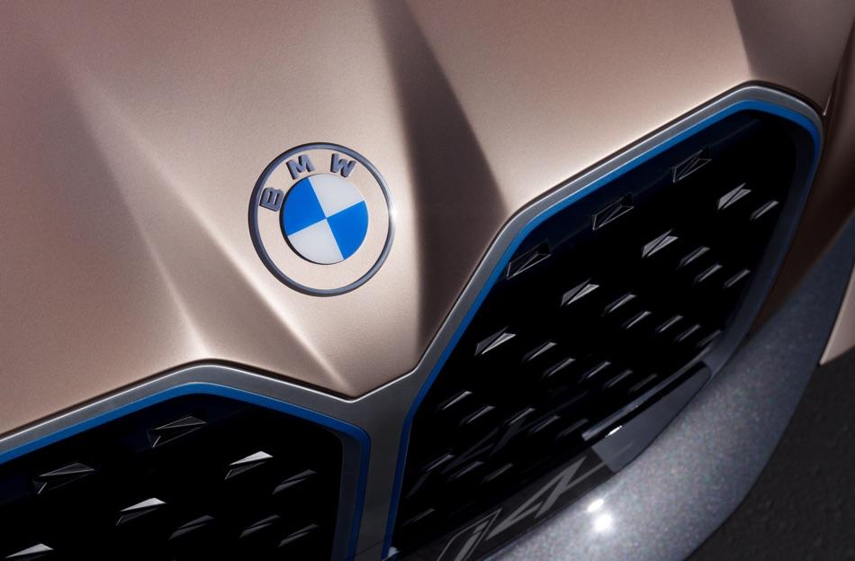 Logo BMW i4 Concept 2020