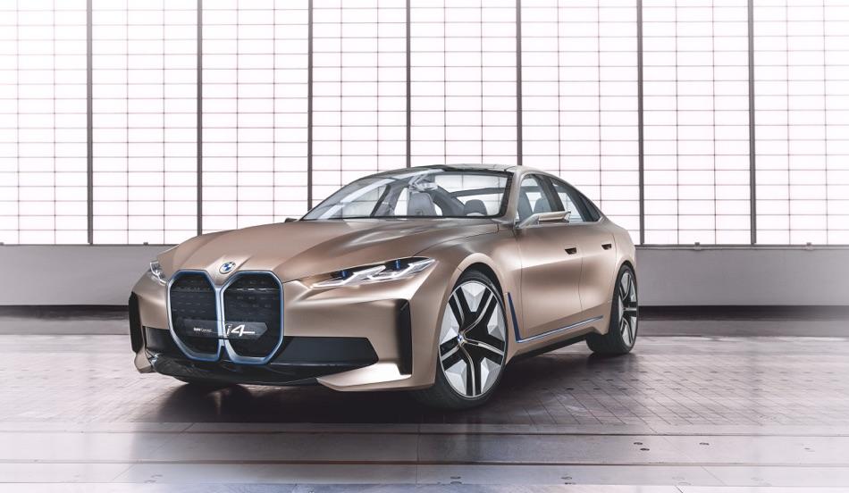 Prestazioni di BMW i4 Concept 2020