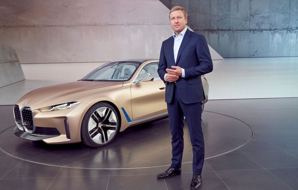 Uscita di BMW i4 Concept 2020