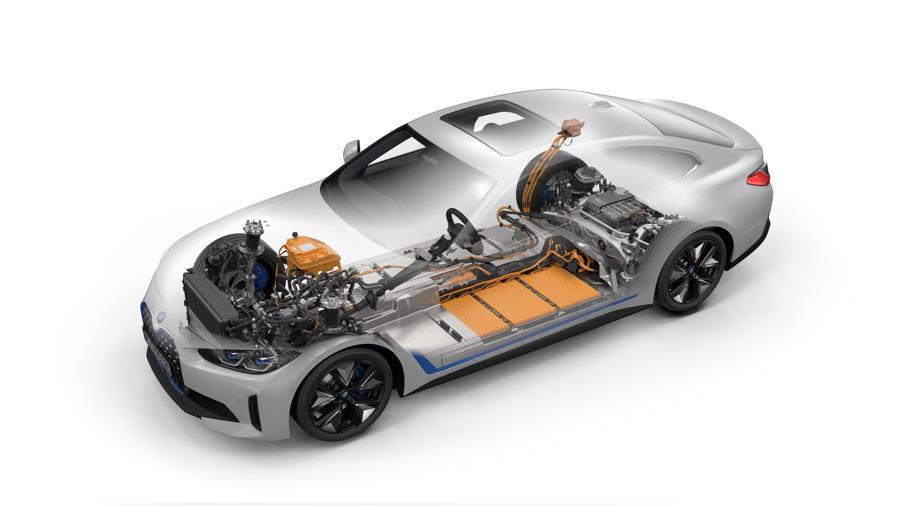 batteria di BMW i4