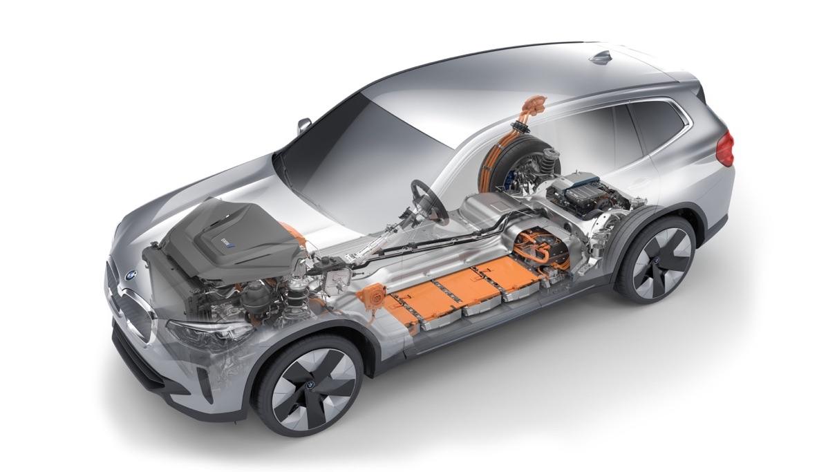 Batteria di BMW iX3