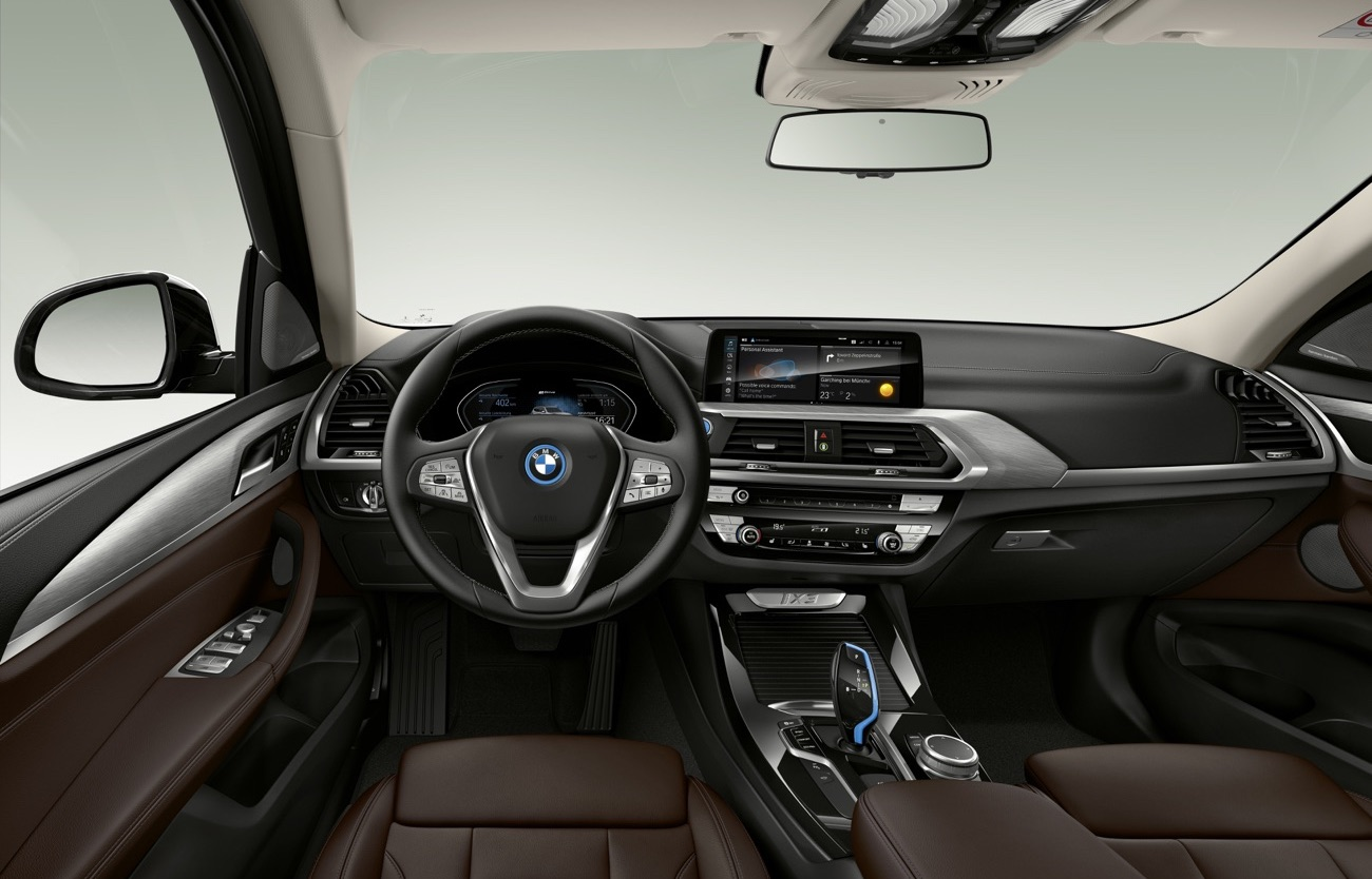 Interni di BMW iX3