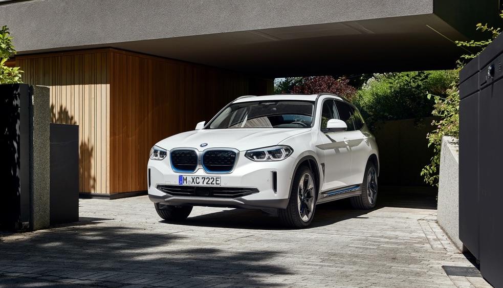 Ricarica di BMW iX3