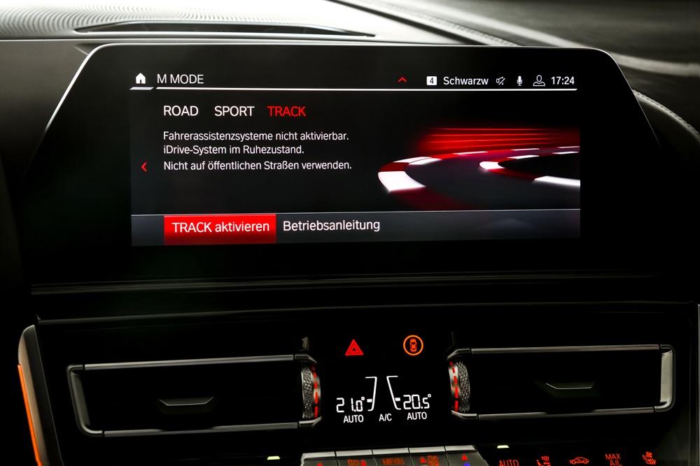 BMW M8 2019 M Mode Track