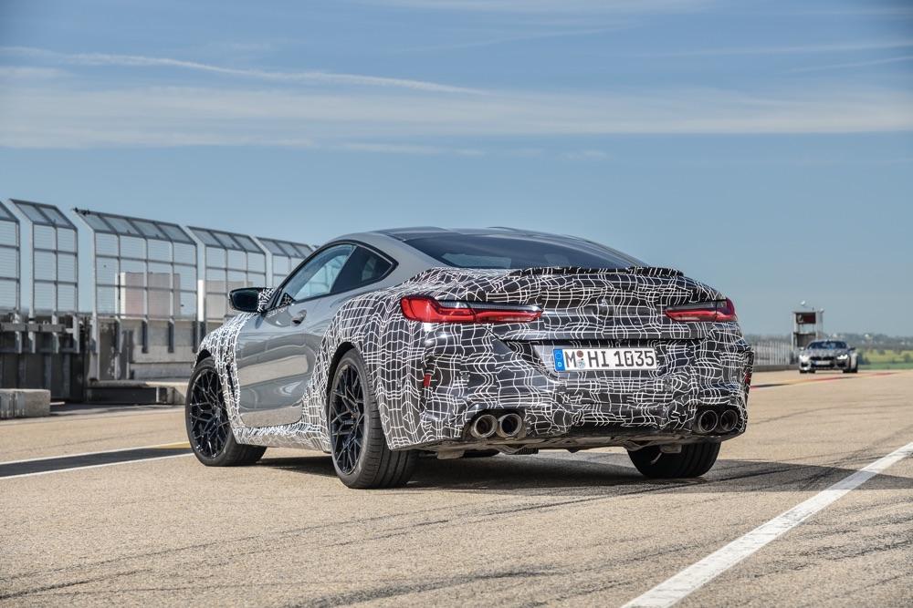 Freni di BMW M8 2019