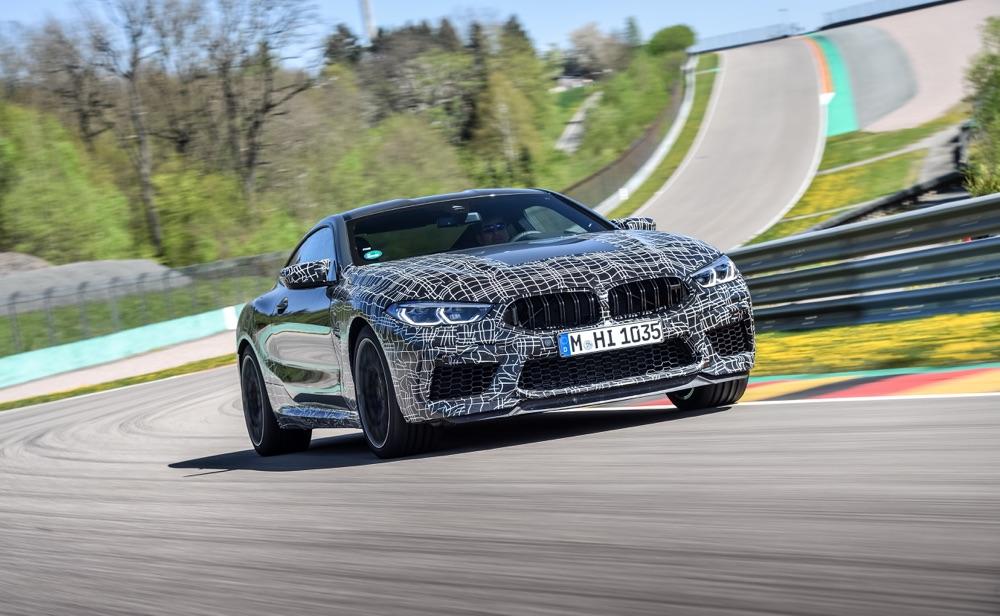 Motore di BMW M8 2019