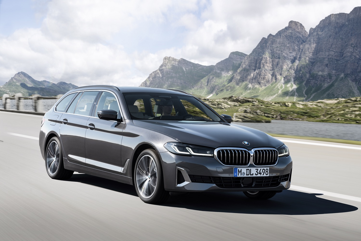 BMW Serie 5 Touring restyling