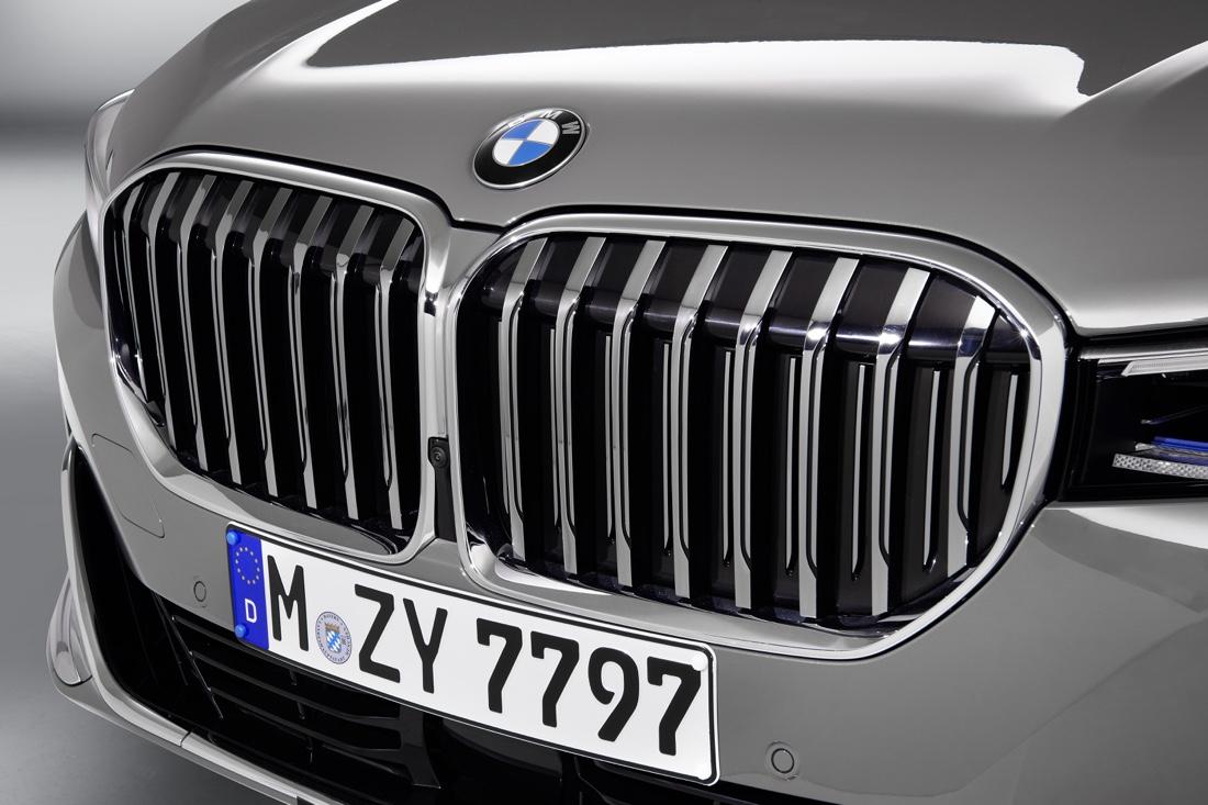 Calandra di BMW Serie 7 2019