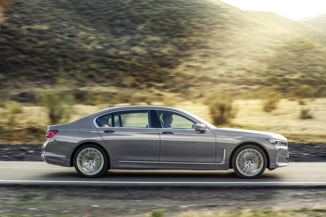 Motori di BMW Serie 7 restyling