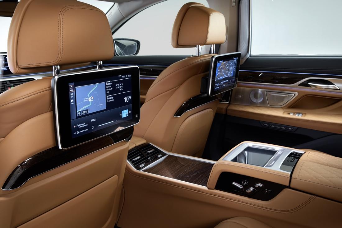 Rear Seat Entertainment di BMW Serie 7