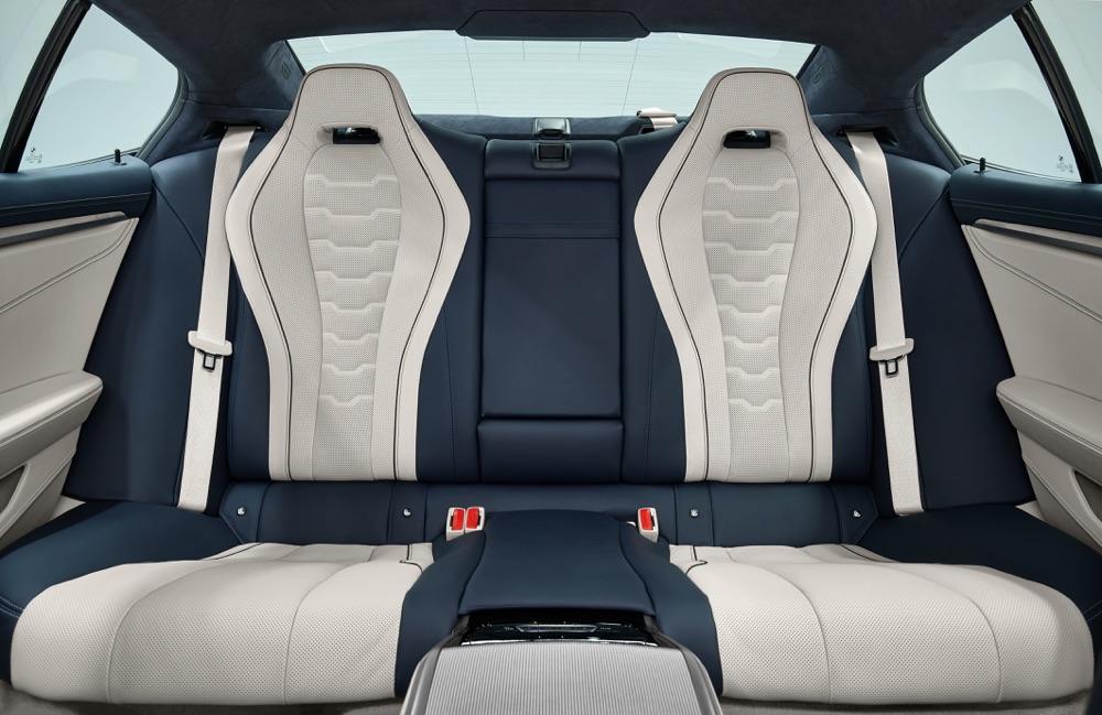 Abitacolo di BMW Serie 8 Gran Coupe