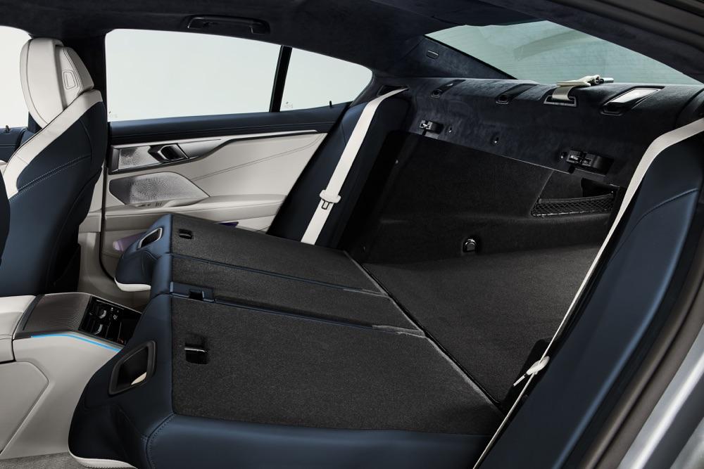 Bagagliaio di BMW Serie 8 Gran Coupe