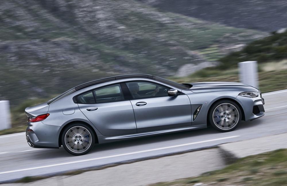 Dimensioni di BMW Serie 8 Gran Coupe