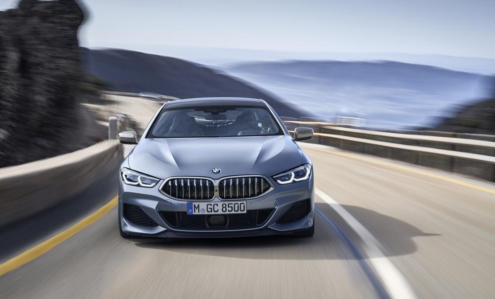 Fari Laserlight di BMW Serie 8 Gran Coupe