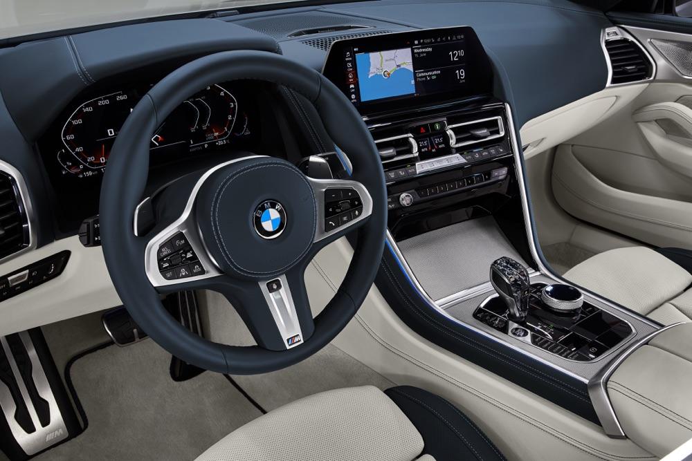 Infotainment di BMW Serie 8 Gran Coupe