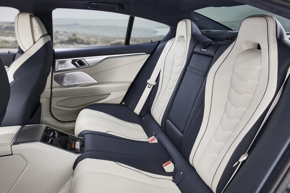 Sedili di BMW Serie 8 Gran Coupe