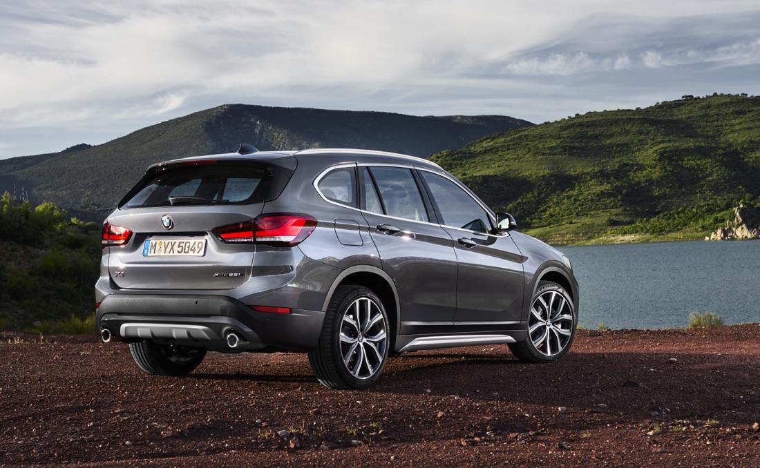 Uscita di BMW X1 restyling 2019