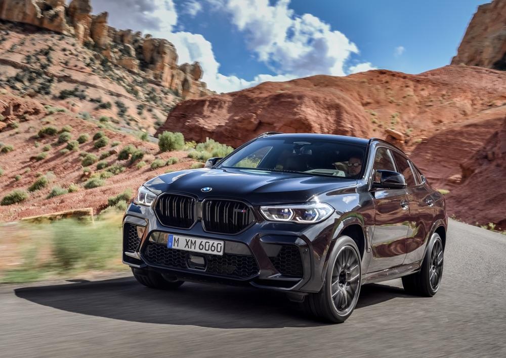 Assetto di BMW X6 M