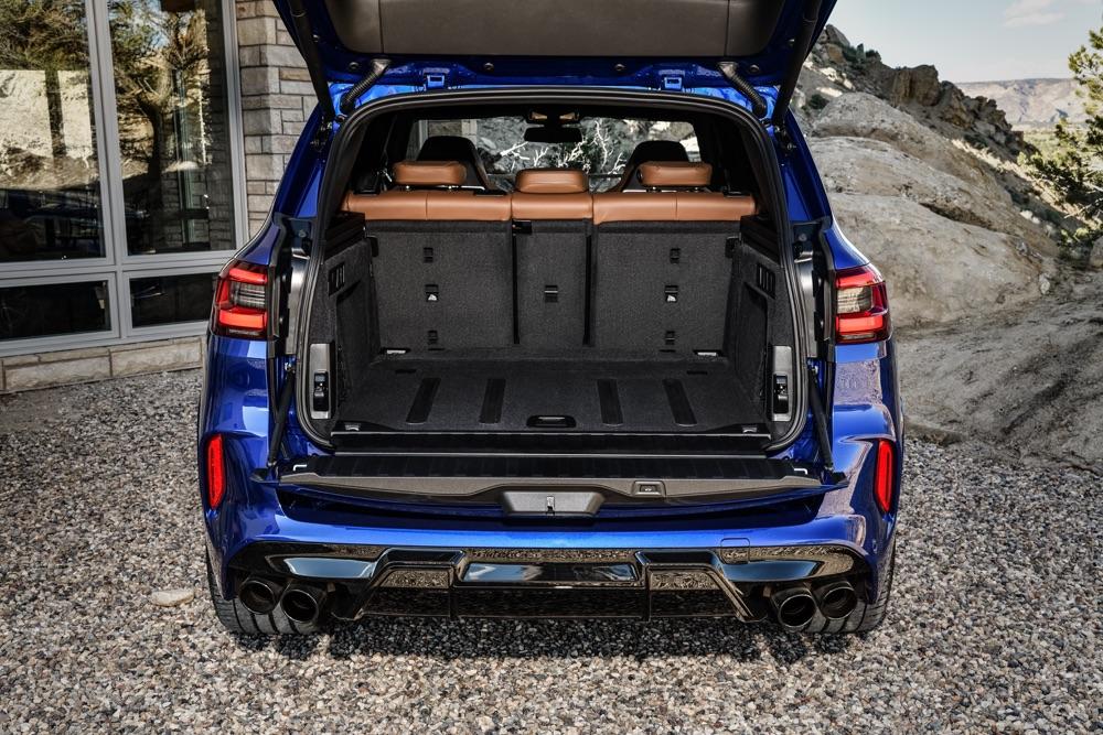 Bagagliaio di BMW X5 M