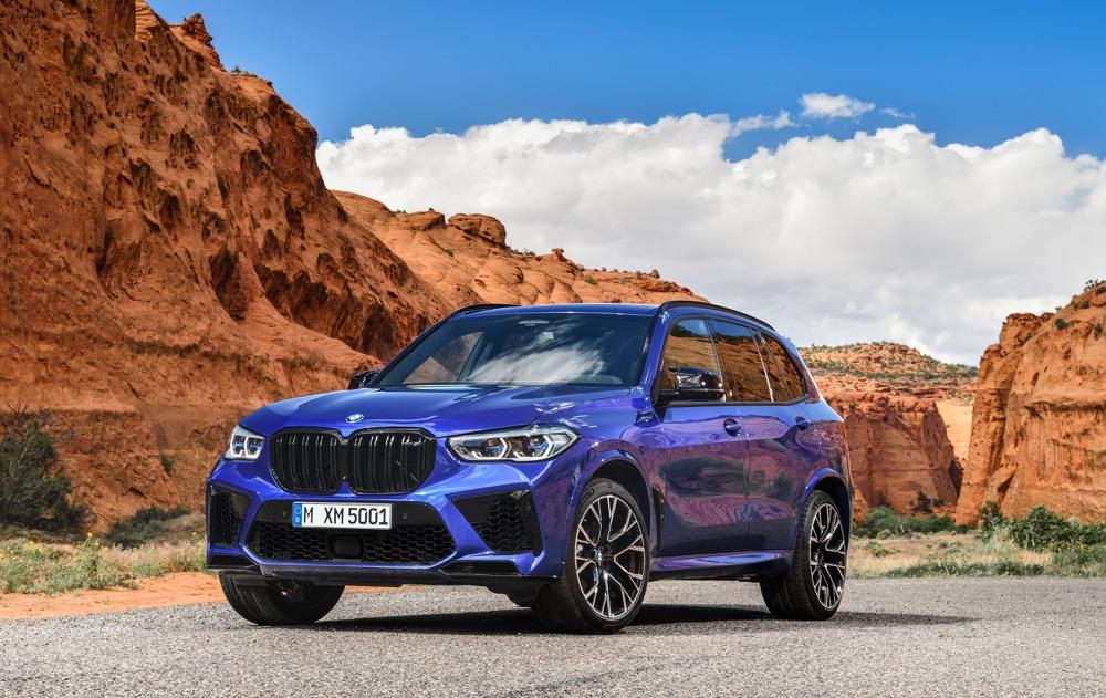 Caratteristiche di BMW X5 M