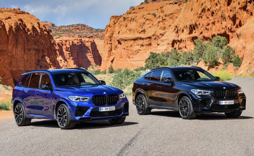 Limitatore di BMW X5 M e X6 M