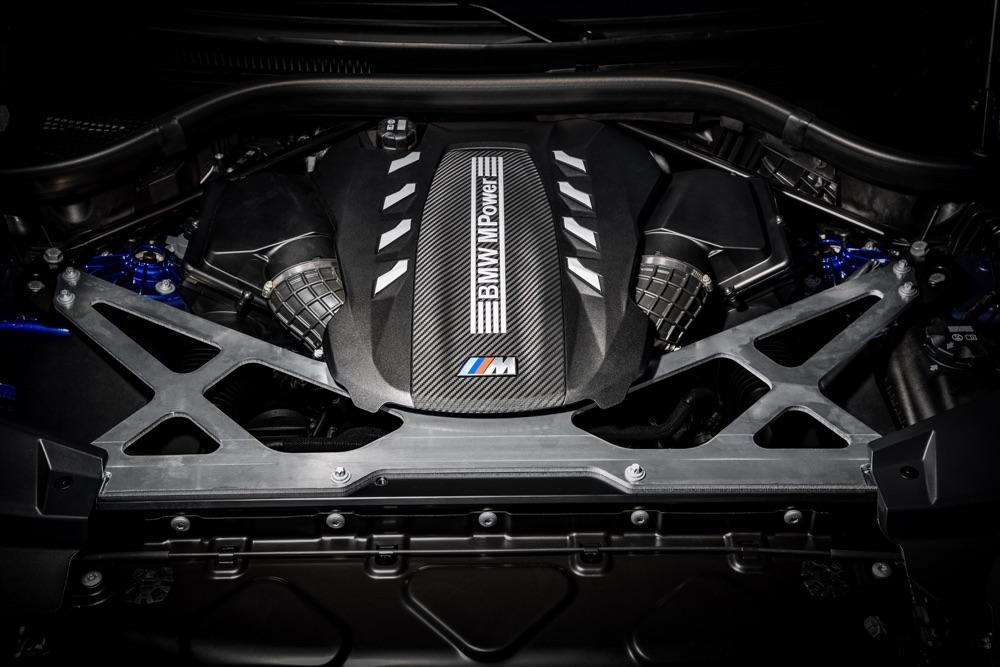 Motore di BMW X6 M