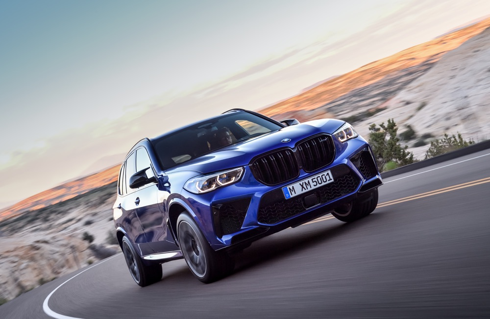 Prestazioni di BMW X5 M